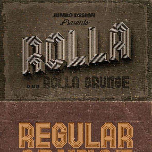 Rolla Custom Font