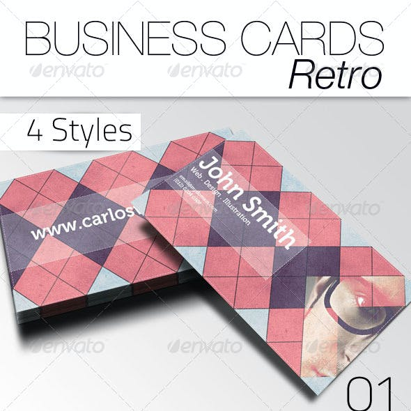 Business Card - Retro