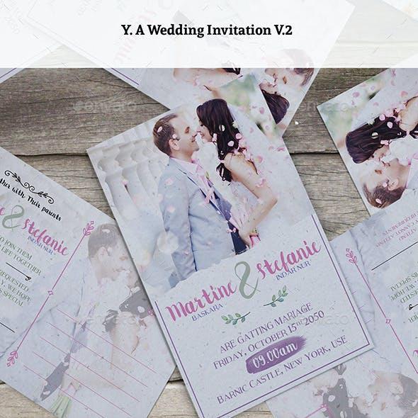 Wedding Invitation V2