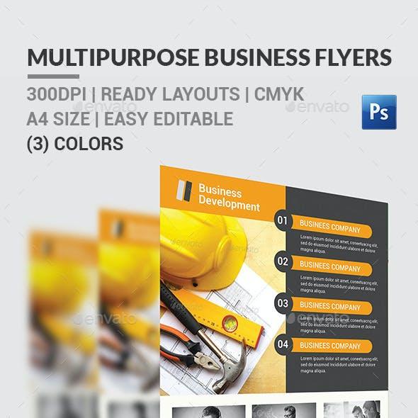 Multipurpose Business Flyers