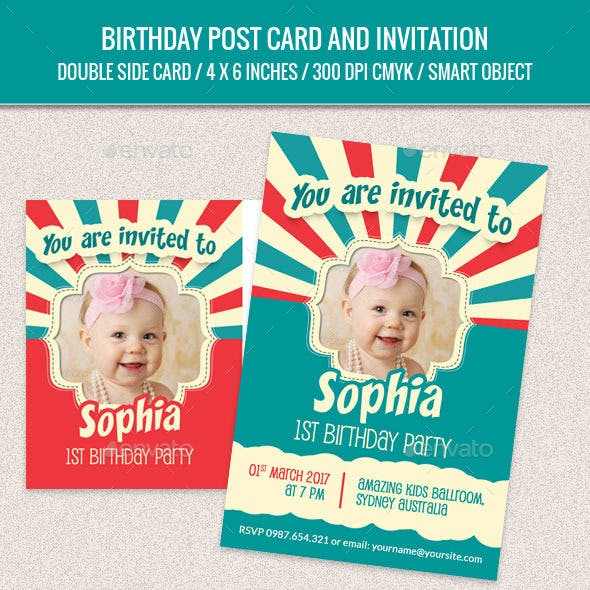 Teenage Birthday Graphics Designs Templates From Graphicriver