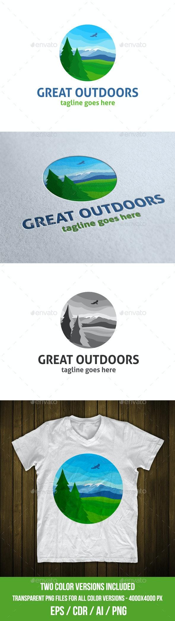 Great Outdoors Logo Template - Nature Logo Templates