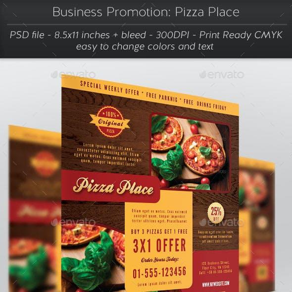 Business Promotion: Pizza Place