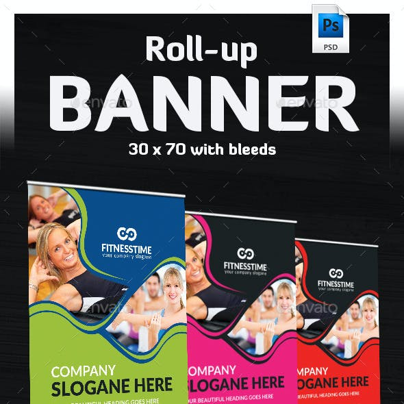 Ultimate Roll Up Banner