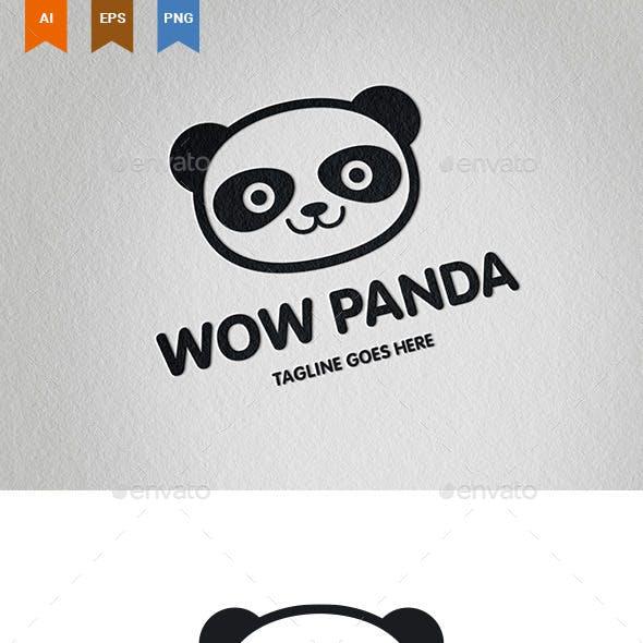 Wow Panda Logo
