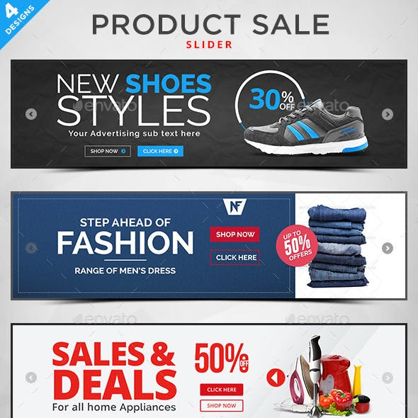 Product Sale Slider