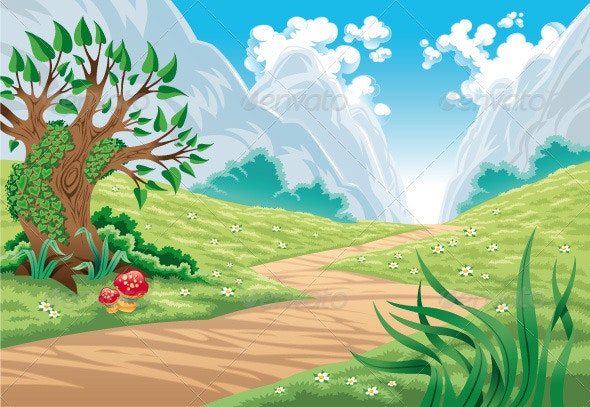 Mountain landscape - Landscapes Nature