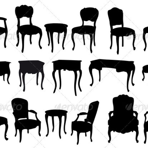 Antique Chairs And Tables
