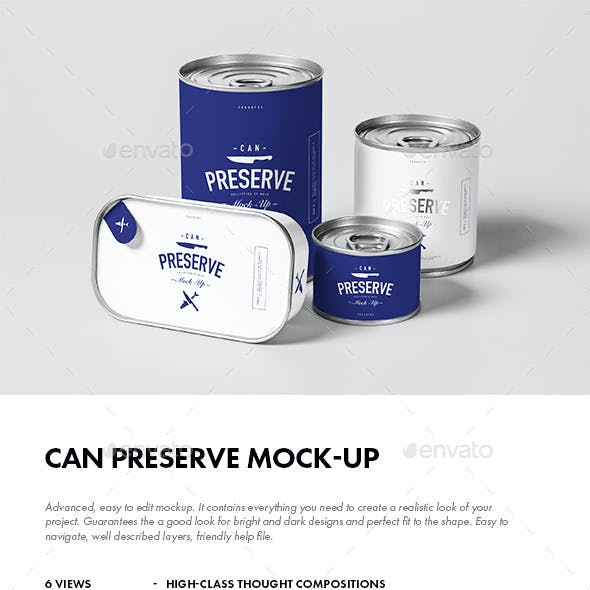 Can Preserve Mock-up