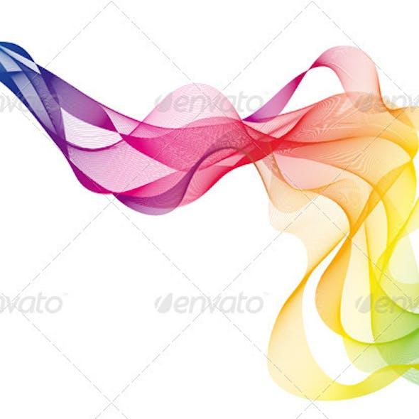 Colorful Vector Smoke
