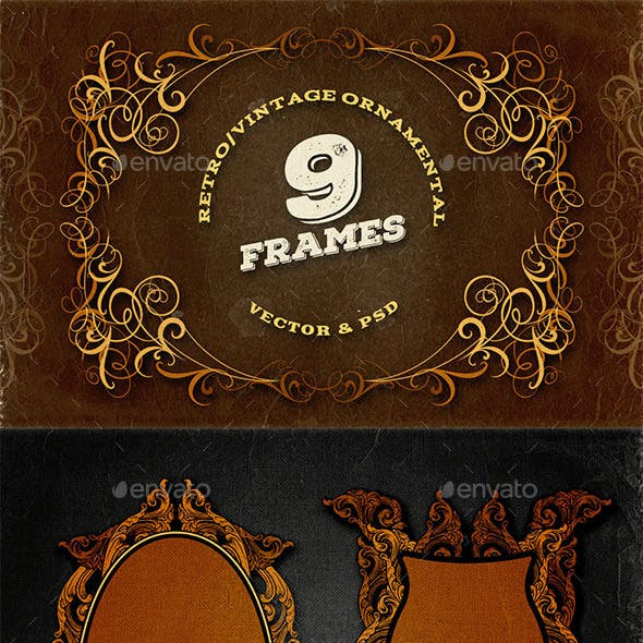 9 Ornamental Frames