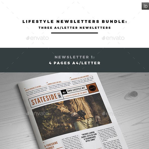 Lifestyle Newsletters Bundle