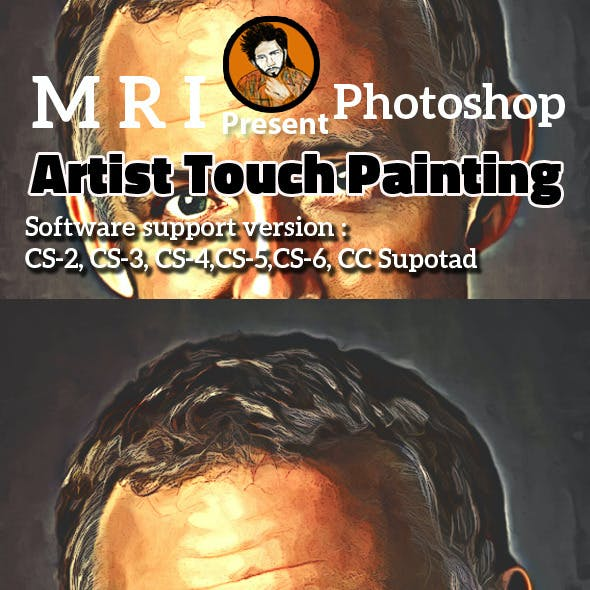 Artist Touch Painting
