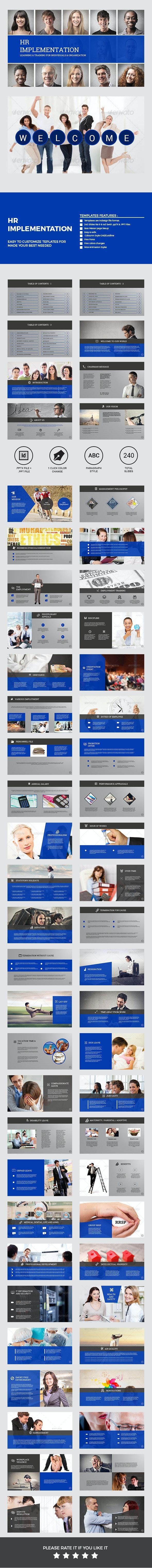HR Implementation - Business PowerPoint Templates