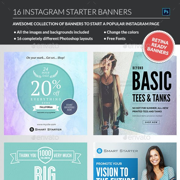 Instagram Banners Package
