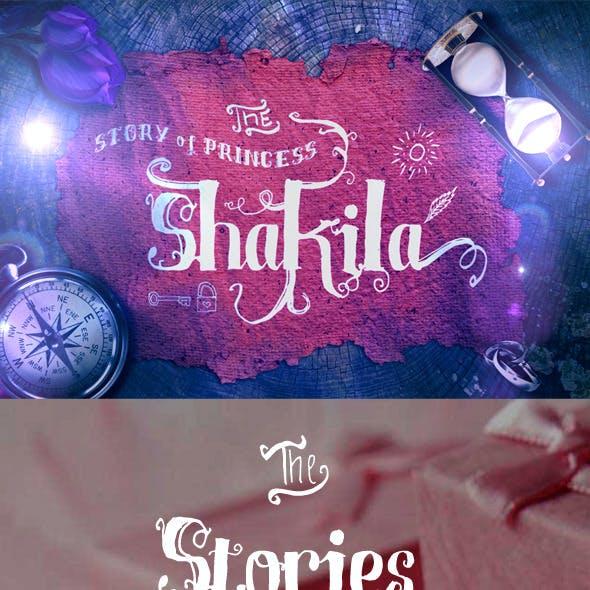 Shakila Typeface Hand Drawn Ornaments