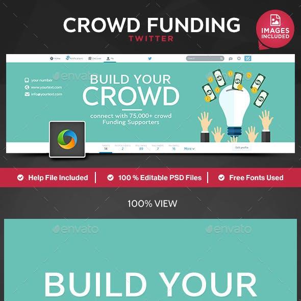 Crowd Funding Twitter Header