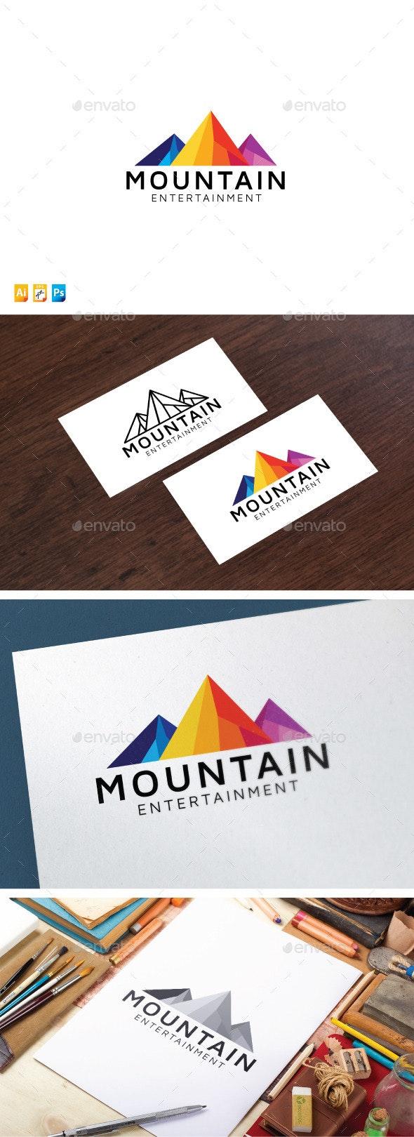 Mountain Entertainment - Nature Logo Templates