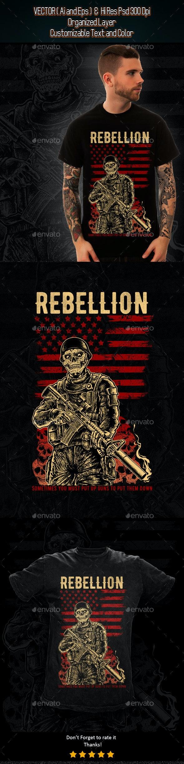 Rebellion - Grunge Designs