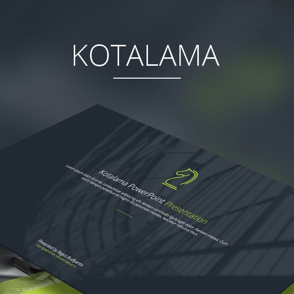 Kotalama PowerPoint Template