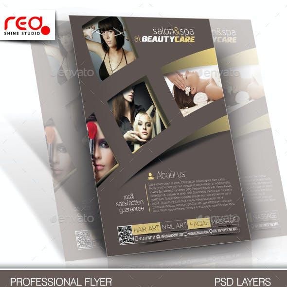 Salon & Spa Flyer & Poster Template