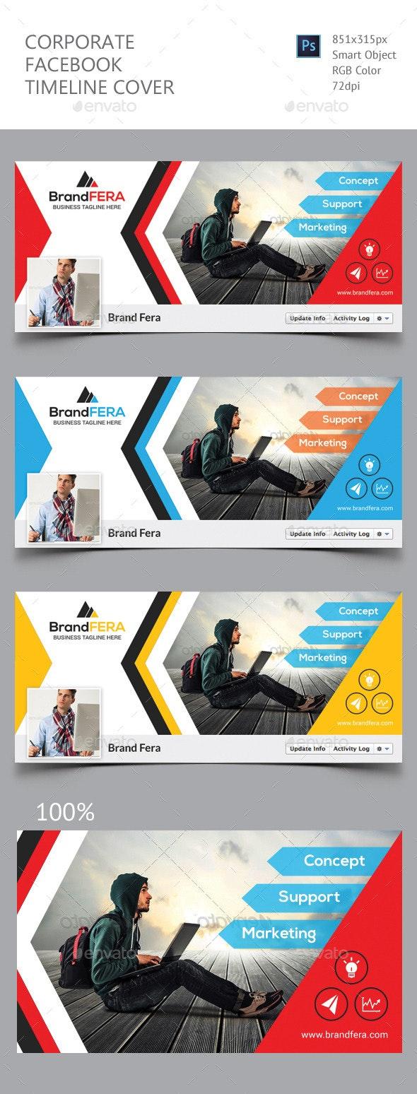 Corporate Facebook Timeline Cover - Facebook Timeline Covers Social Media