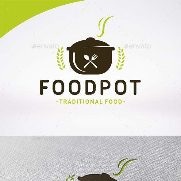 Food Pot Logo Template
