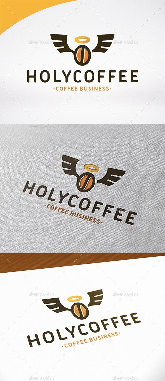 Holy Coffee Logo Template