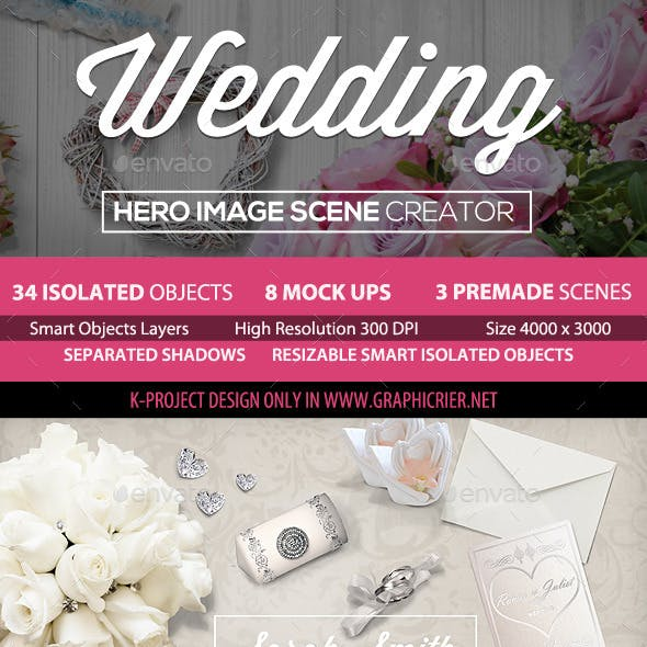 Wedding Hero Image Scene Creator