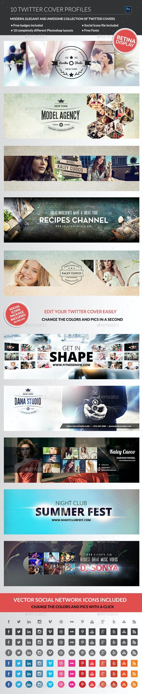 Twitter Covers - Twitter Social Media