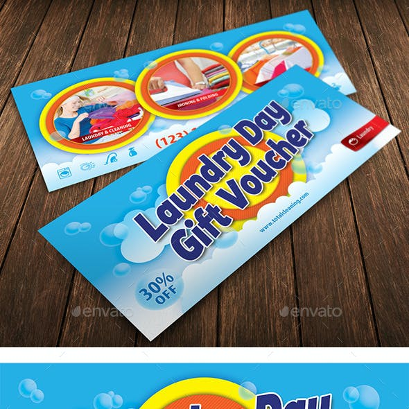 Laundry Service Gift Voucher