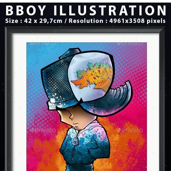 Illustration Bboy