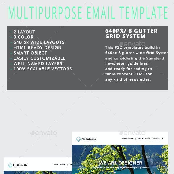 Multipurpose E-newsletter V1
