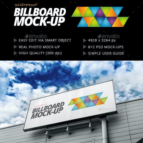 Billboard Mock-up Outdoor