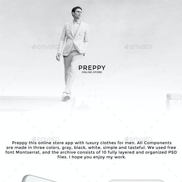Preppy Online-store App