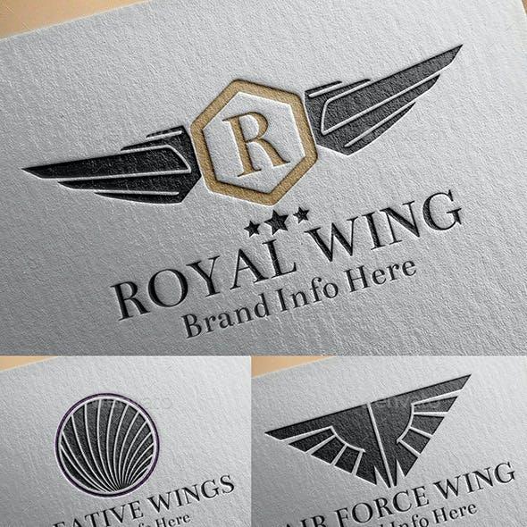 Heraldic Wings Logos