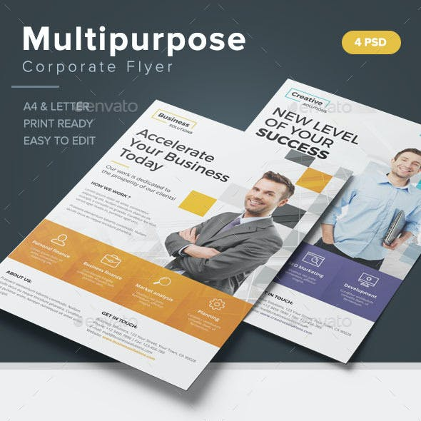 Multipurpose Corporate Flyer
