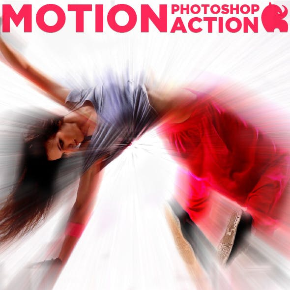 Motion Photoshop Action
