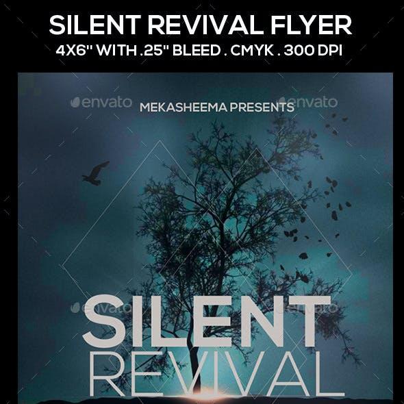 Silent Revival Flyer