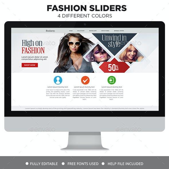 Fashion Sale Sliders