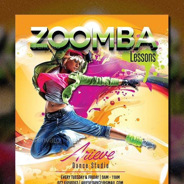 Zumba / Fitness Flyer