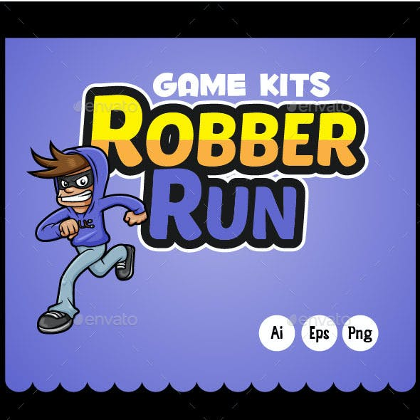 Game Assets Robber Run