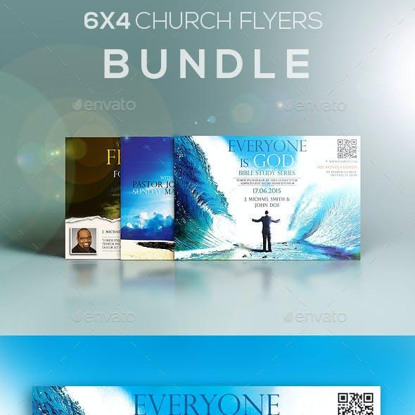 6x4 Church Flyers Bundle