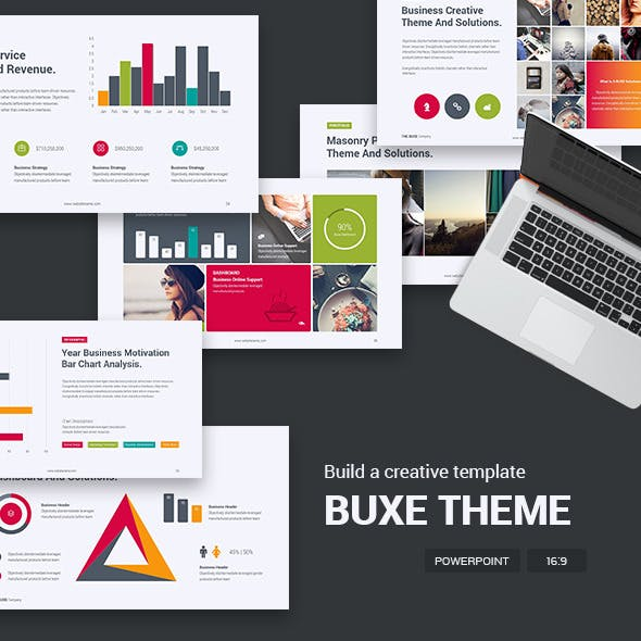 BUXE Business Theme - Clean