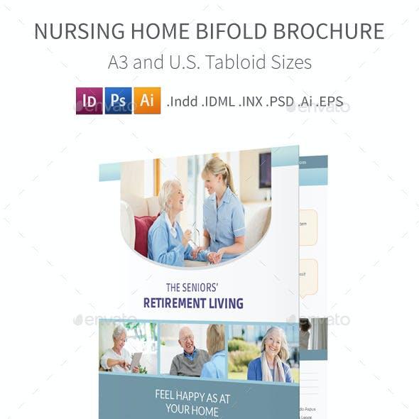 Nursing Home Bifold / Halffold Brochure