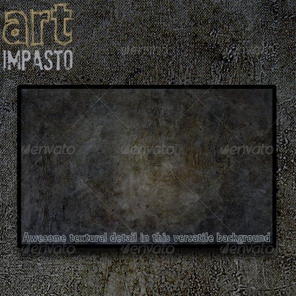 Art - Impasto Paint Abstract Texture Background