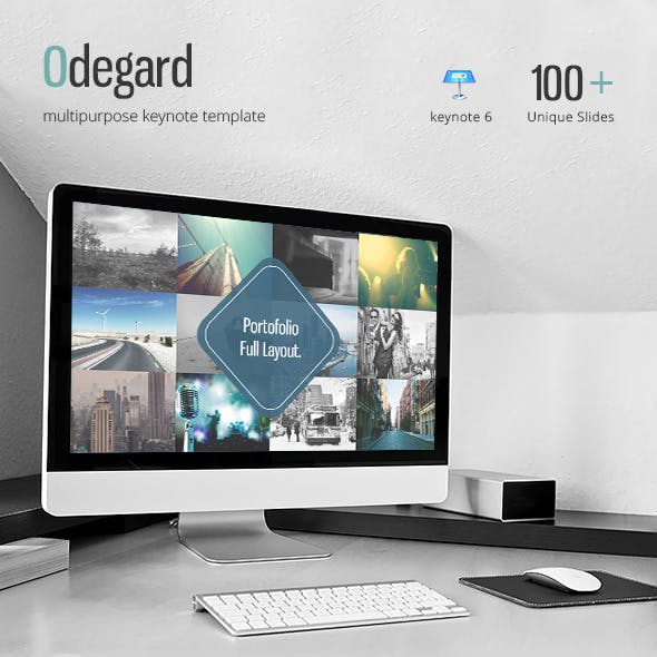 Odegard - Simple Keynote Presentation Template
