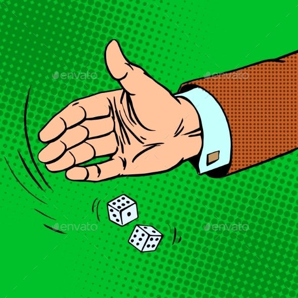 Dice Throwing Hand