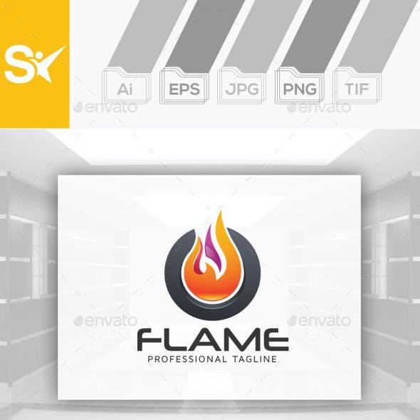 Flame Logo design