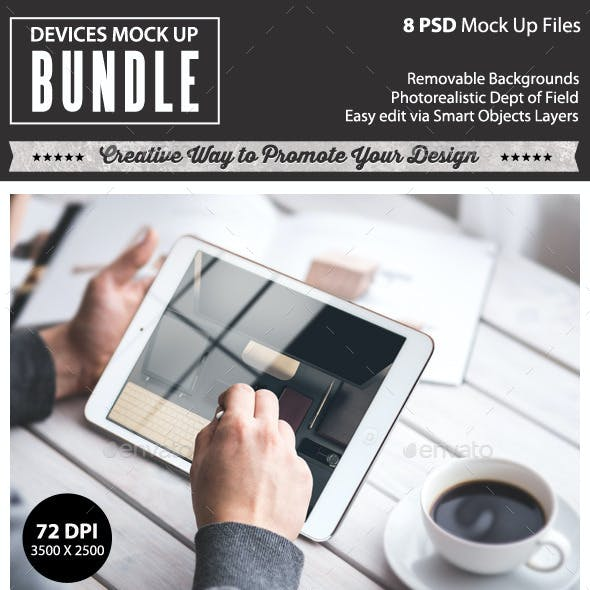 Devices Mock Up Bundle